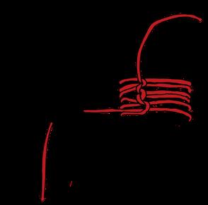 パイプへのロープの縛り方15