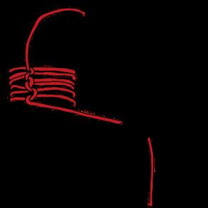 パイプへのロープの縛り方16