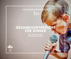 Gesangsunterricht für Kinder   Köln, Bonn, Erftstadt