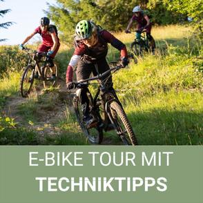 E-Bike Tour mit Techniktipps in Oberstaufen/ Allgäu/ Bregenzerwald