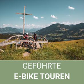 Geführte E-Bike Touren im Allgäu/ Oberstaufen/Isny/Bregenzerwald