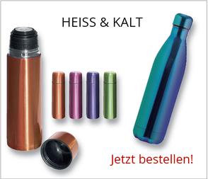 Thermo-Flaschen günstig mit Logo