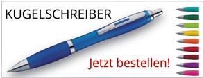 Kugelschreiber bedruckt mit Ihrem Logo zu top Preisen