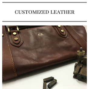 customized leather bags wallets shoes