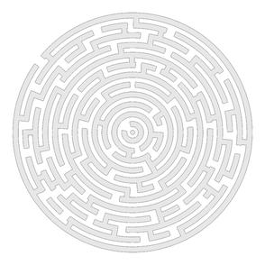 Das Labyrinth-Symbol passt zur Zeitqualität im Juni - SOULGARDEN Feng Shui im Jahreskreis