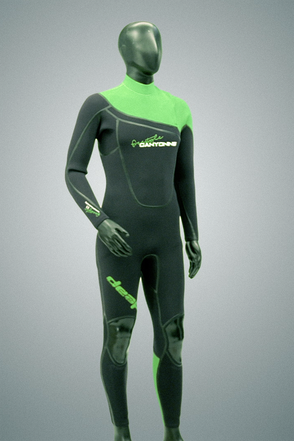 deap freestyle canyoning wetsuit