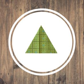 Patchwork Grundform Dreieck