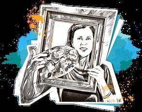 Porträt Susanne Alm-Hanke vom Team nextARTlevel