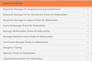 Termin online buchen massage lebensberatung bern