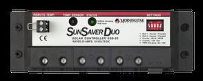 Morningstar SunSaver Duo zum laden von zwei Batteriekreisen