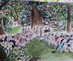 mariage chateau paris île de france chapiteau bambou se marier location chateau domaine mariage
