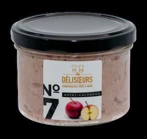 No. 7 Apfel-Calvados 200 g Glas