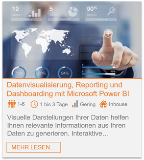 Training - Power BI: Datenvisualisierung, Reporting und Dashboarding