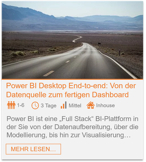 Training - Power BI Desktop: Dashboard in a day