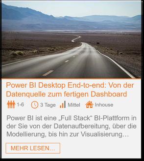 Training - Power BI Desktop: Dashboard in a day