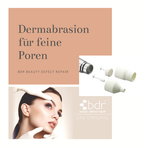 bdr- Dermabrasion zur Hautverfeinerung