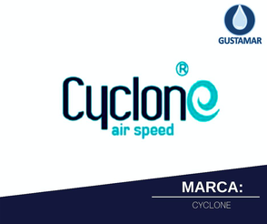 MARCA CYCLONE DEL SECADOR DE MANOS / SECAMANOS CYCLONE TIPO XLERATOR CO3S