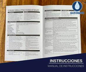 INSTRUCCIONES DEL SECADOR DE MANOS / SECAMANOS CYCLONE TIPO XLERATOR CO3B