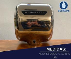 MEDIDAS DEL SECADOR DE MANOS / SECAMANOS CYCLONE TIPO XLERATOR CO3P
