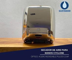 SECADOR DE AIRE PARA MANOS ÓPTICO CYCLONE CO4P