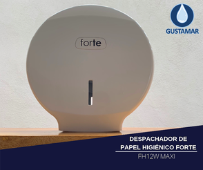 CARACTERÍSTICAS DEL DESPACHADOR DE PAPEL HIGIÉNICO FORTE MAXI FH12W