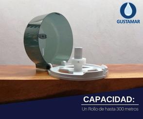 CAPACIDAD DEL DESPACHADOR DE PAPEL HIGIÉNICO INSTITUCIONAL JOFEL MINI SMART AE59403