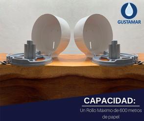 CAPACIDAD DEL DESPACHADOR DE PAPEL HIGIÉNICO FORTE MAXI FH12W