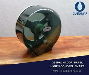 DISPENSADOR DE PAPEL HIGIÉNICO INSTITUCIONAL JOFEL MINI SMART AE59403