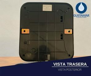 VISTA TRASERA DEL SECADOR DE MANOS / SECAMANOS CYCLONE TIPO XLERATOR CO3P
