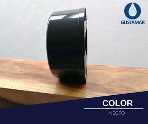COLOR DEL DESPACHADOR DE PAPEL HIGIÉNICO JOFEL MAXI BLACK - NEGRO AE58600