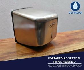DISPENSADOR DE PAPEL HIGIÉNICO INSTITUCIONAL JOFEL FLUIDO CÉNTRICO AE67011