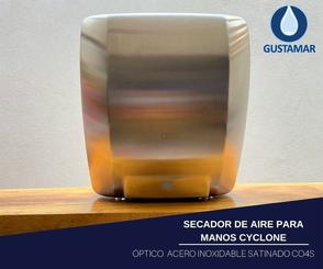 SECADOR DE AIRE PARA MANOS ÓPTICO CYCLONE CO4S
