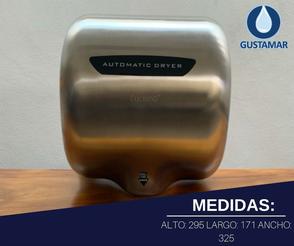 MEDIDAS DEL SECADOR DE MANOS / SECAMANOS CYCLONE TIPO XLERATOR CO3S