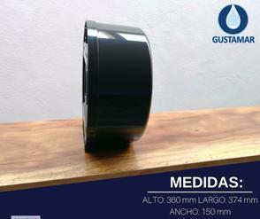 MEDIDAS DEL DISPENSADOR DE PAPEL HIGIÉNICO JOFEL MAXI BLACK - NEGRO AE58600