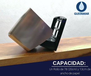 CAPACIDAD DEL DESPACHADOR DE PAPEL HIGIÉNICO INSTITUCIONAL JOFEL FLUIDO CÉNTRICO AE67011