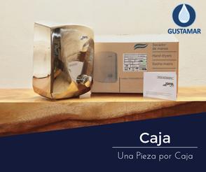 CAJA DEL SECADOR DE AIRE PARA MANOS / SECAMANOS JOFEL FUTURA INOXIDABLE PULSADOR AA15126