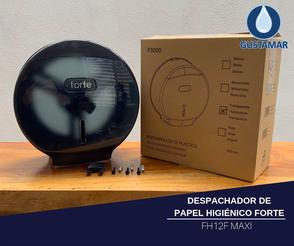 CARACTERÍSTICAS DEL DESPACHADOR DE PAPEL HIGIÉNICO FORTE MAXI FH12F
