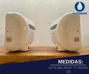 MEDIDAS DEL SECADOR DE MANOS / SECAMANOS CYCLONE TIPO XLERATOR CO3B