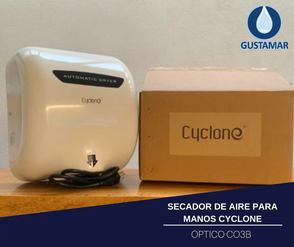 SECADOR DE MANOS / SECAMANOS CYCLONE TIPO XLERATOR CO3B