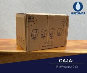 CAJA: SECADOR DE AIRE PARA MANOS ÓPTICO CYCLONE SATINADO ACERO INOXIDABLE  CO2SV