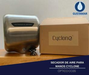 SECADOR DE MANOS / SECAMANOS CYCLONE TIPO XLERATOR CO3S