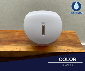 COLOR DEL DESPACHADOR DE PAPEL HIGIÉNICO TITAN BLANCO MINI DIAMANTE 51065