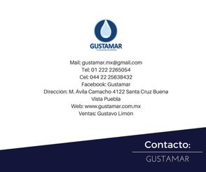 DATOS DE CONTACTO DE GUSTAMAR DJ70010