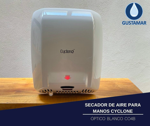 SECADOR DE AIRE PARA MANOS ÓPTICO CYCLONE CO4B