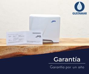 GARANTÍA DEL SECADOR DE AIRE PARA MANOS / SECAMANOS JOFEL TORNADO ÓPTICO AA84126