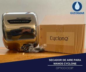 SECADOR DE MANOS / SECAMANOS CYCLONE TIPO XLERATOR CO3P