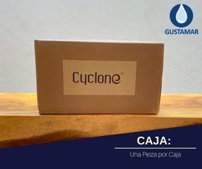 CAJA: SECADOR DE AIRE PARA MANOS ÓPTICO CYCLONE CO4B
