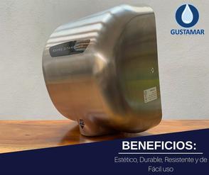 BENEFICIOS DEL SECADOR DE MANOS / SECAMANOS CYCLONE TIPO XLERATOR CO3S