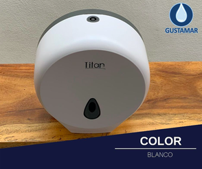 COLOR DEL DESPACHADOR DE PAPEL HIGIÉNICO TITAN MINI BLANCO 8002W