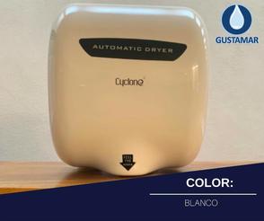 COLOR: ACERO INOXIDABLE PULIDO DEL SECADOR DE MANOS / SECAMANOS CYCLONE TIPO XLERATOR CO3B